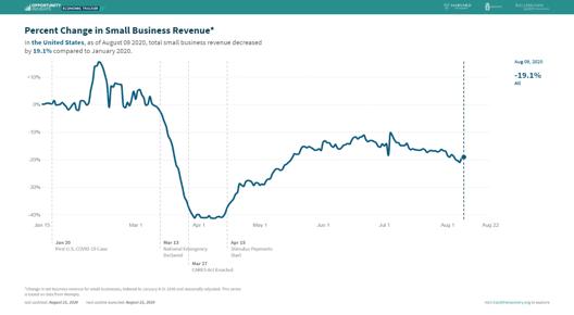 4 Small Biz Revenue USA Percentage