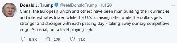 2.Trump's Tweet
