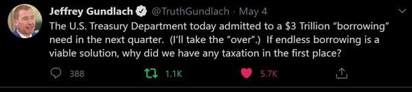 5. TruthGundlach Tweet