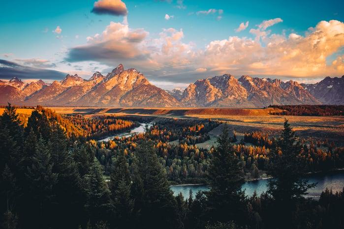 7. Jackson Hole, Wyoming - AdobeStock_130465414